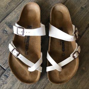 Birkenstock Mayari Sandal Cream 42
